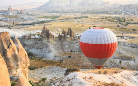 ballonflyvning i gave